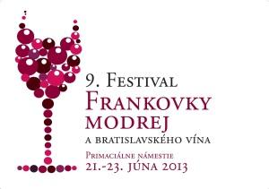 9. Festival frankovky modrej a bratislavského vína sa uskutoční 21. - 23. júna 2013 v Bratislave na Primaciálnom námestí.
