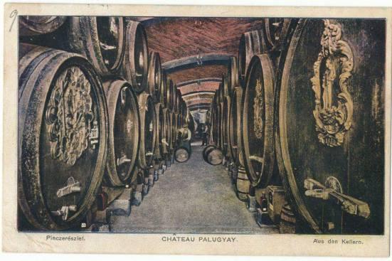 Pivnice Chateau Palugyay v Prešporku