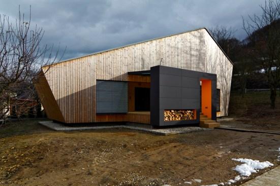 Víkendový dom Nosice. Foto: Daniel Veselský