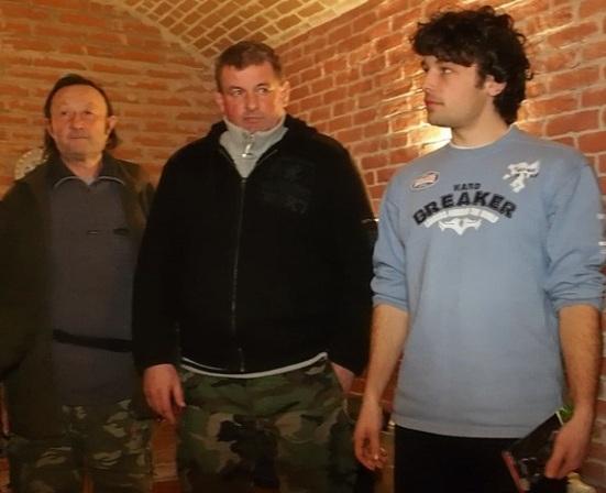 Traja najlepší - zľava tretí Ivan Holík, víťaz Stanislav Gerzanič a druhý Lukáš Krasňanský. Foto: Michal Rebro