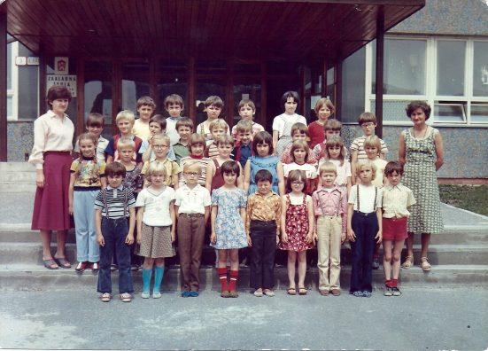 ZŠ Plickova 1980 / 81