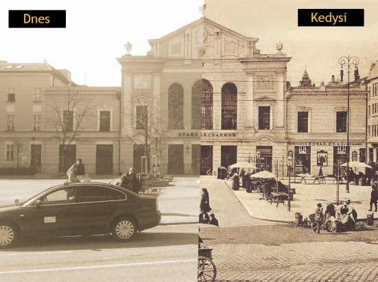Stará tržnica v Bratislave kedysi a dnes.