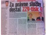 Šéf SNS Andrej Danko dostal od Rače za právne služby astronomických 229-tisíc eur, píše NovýČas