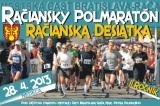 2. ročník Račianskeho polmaratónu povedie 28. apríla cez katastre Rače, Vajnôr a SvätéhoJura