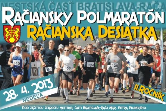 VRači sa chystá druhý ročník Račianskeho polmaratónu