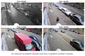 Takto vyzerajú zábery z bezpečnostných kamier, ktoré by mali dohliadať aj na verejné priestory v Rači.
