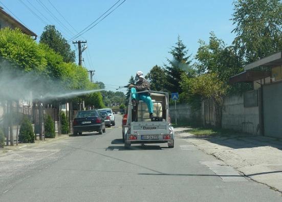 Postreky proti zvýšenému výskytu komárov na Záhorí.