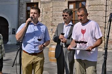 Slávnostné otvorenie festivalu s Petrom Pilinským, Milanom Ftáčnikom a Dušanom Žitným.