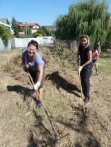 Brigádnici zmenili Obecnú záhradu na nepoznanie!(+foto)