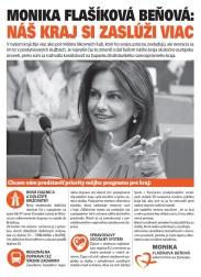 Monika Flašíková-Beňová (SMER-SD), kandidátka na predsedu BSK