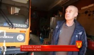 Branislav Kunert, vedúci oddelenia čistoty MČ Bratislava - Rača