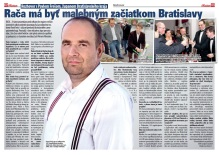 Spravodaj Račan, 04/2013: Rozhovor so županom Pavlom Frešom o Rači a kraji.
