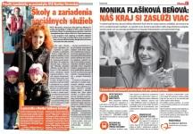 Spravodaj Račan, 04/2013: Predstavenie kandidátky na poslankyňu BSK Martiny Rovenskej a prezentácie Moniky Flašíkovej-Beňovej.