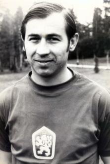 Ivan Hrdlička v drese ČSSR. Foto: Archív ŠK Slovan Bratislava