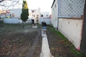 Výmena plota v Obecnej záhrade