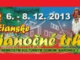 Vianočné trhy 2013 v Rači 6. – 8. decembra: Program ponúka príchod Mikuláša aj viaceronoviniek