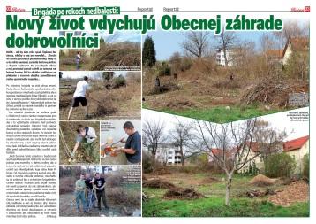 Médiá: Obecná záhrada Rača (Račan, 06/2012)