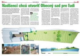 Médiá: Obecná záhrada Rača (12/2012)