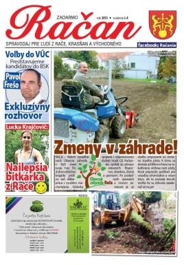 Médiá: Obecná záhrada Rača (Račan, 11/2013)