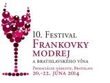 10. Festival frankovky modrej a bratislavského vína bude v termíne 20. – 22. júna2014