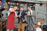Slávnostné otvorenie festivalu, zľava Dušan Žitný, Peter Pilinský, Milan Ftáčnik.