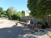 Obecná záhrada v Rači, jún 2014