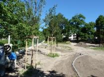 Obecná záhrada v Rači: jún 2014