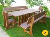 2: Prírodné, opracované drevo