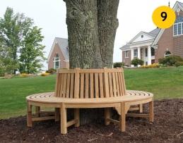9. Strohý štýl s využitím dostupných drevín