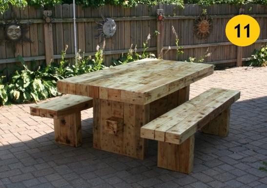 11. Masívny štýl z dreva