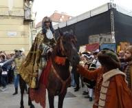 Kráľ Karol VI. na koni