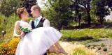 Svadobné foto z Obecnej záhrady: Mladomanželom želáme len toNAJ