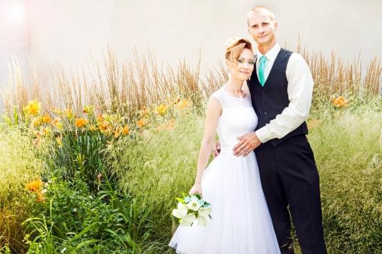 Ingrid s manželom si fotenie užívali napriek tropickému počasie.