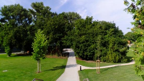Záhrada vodárenského múzea v Bratislave