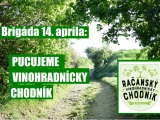 Pozvánka na brigádu 14. apríla: Pucujeme vinohradníckychodník