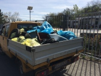 Tri takéto autá sa naplnili odpadom. Čo sme to za ľudia? Takto slušné Slovensko nevybudujeme.